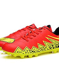 Femme-Sport-Noir / Bleu / Rouge / Argent-Talon Plat-Confort-Chaussures d'Athlétisme-Polyuréthane