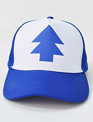 Weird town Gravity Falls tip with pine parent-child blue baseball cap Breathable / Comfortable  BaseballSports