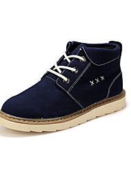 Men's Popular Boots Comfort Leather Outdoor/Casual Walking High Top Youth Martin Boots Tooling Boots