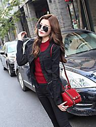 signer de nouveaux plume ourlet style de conception de couture occidentale modèles minces denim noir veste stations européennes
