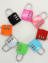 Travel Luggage Lock Coded Lock Luggage Accessory Anti-theft Portable Mini Size