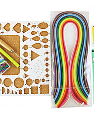 400PCS Quilling Paper DIY Craft Art Decoration Kit / 7PCS Set
