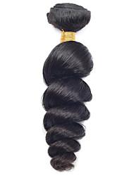 Vinsteen 1 Piece Loose Wave Human Hair Weaves Unprocessed Brazilian Virgin Hair Texture 0.1 kg 8-30 inch Human Hair Extensions