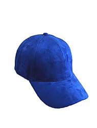 Caps / Chapéu Respirável / Confortável Unissexo Esportes Relaxantes / Basebal / Praia Primavera / Verão Cinzento / Preto / Azul / Marron