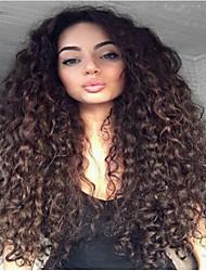 12inches-22inches parte dianteira do laço peruca brasileiro do cabelo humano peruca encaracolado grande virgem para mulheres