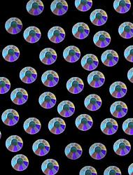 1440pcs 4.6-4.8mm ab cor brilho strass cristal flatback arte decoração de unhas