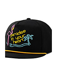 Women Men Pineapple Fruit Letters Embroidery Printing Dome Hip-Hop Cotton Baseball Cap