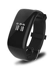 Point Touch Big Screen Heart Rate Step Information Push Waterproof Smart Bracelet