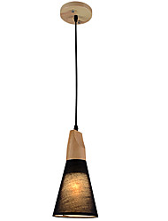 MAX60W Pendant Light   Country Others Feature for Designers Wood/BambooLiving Room / Bedroom / Dining Room