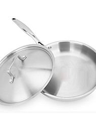 304 Stainless Steel Frying Pan 26cm
