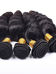 Vinsteen Unprocessed Brazilian Hair Loose Wave Wigs 5 Pieces 100g/pcs Human Hair Weaves 8-30 inches Wefts Human Hair Extensions Natural Color