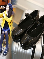 Women's Loafers & Slip-Ons Comfort PU Casual Black