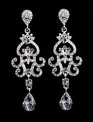 The New Style Heart Waterdrop Earrings