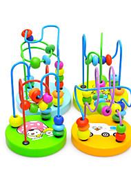 Обучающая игрушка / Игрушечные счеты Хобби и досуг Цилиндрическая Дерево Радужный Для мальчиков / Для девочек
