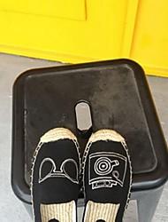 Damen-Loafers & Slip-Ons-Lässig-WildlederKomfort-Schwarz