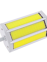 15W R7S Lâmpadas Espiga T COB LED COB 1200LM lm Branco Quente / Branco Frio Decorativa AC 85-265 V 1 pç