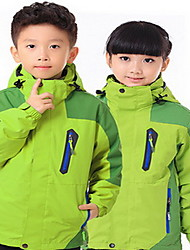 Hiking Tops Kid's Waterproof / Thermal / Warm / Windproof / Insulated / Comfortable Spring / Fall/Autumn / Winter TactelGreen / Pink /