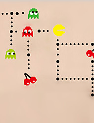 DIY Wall Stickers Pacman Stickers Home Decoration Wall Decal