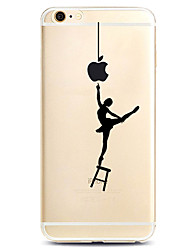 Назначение iPhone X iPhone 8 iPhone 7 iPhone 7 Plus iPhone 6 Чехлы панели С узором Задняя крышка Кейс для Соблазнительная девушка Мягкий
