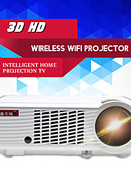 LED-33+02 LCD Proyector de Home Cinema FWVGA (854x480) 2000 LED 4:3 16:9 16:10