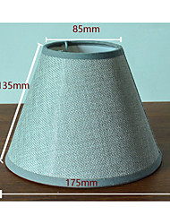Contemporary and contracted fabric/floor lamp lampshade lampshade lamp shade/white/gray