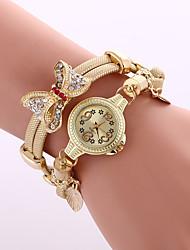 Relojes Mujer 2016 Wrist Watches For Women Bow Metal Watch Bracelets Fashion Ladies Watch Clock Wrist Watches