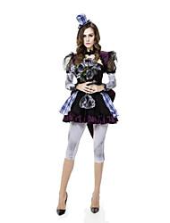 Festival/Holiday Halloween Costumes Black & Blue Solid Skirt / Pants / Shawl / Hats Halloween / Christmas / Carnival Female
