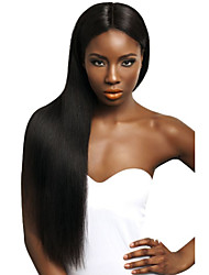 Natural Looking Full Lace & Lace Front Wigs Indian Remy Human Hair Straight Wigs with Baby Hair