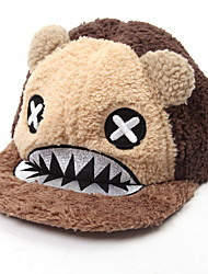 Fashion Cartoon Big Mouth Shark Plush Flat Hat Women'S Baseball Cap Hip-Hop Cap