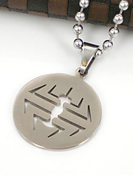 Enthic 316L Stainless Steel Pendant Necklace