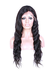 Hot Selling Long Indian Remy Hair Lace Front Wig Deep Wave Hair With Adjustable Straps 100% Unprocessed Human Hair Lace Wig For Black Woman