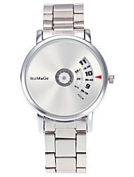 Женские Модные часы / Наручные часы Кварцевый / Нержавеющая сталь Группа Heart Shape / Cool / Повседневная Серебристый металл марка
