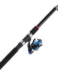 Fishing Rod Spinning Rod Carbon 21 M Sea Fishing / General Fishing Rod Blue-OEM
