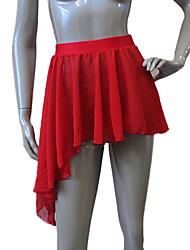 Latin Dance Skirts Women's / Children's Performance Chiffon / Nylon / Lycra 1 Piece Skirt