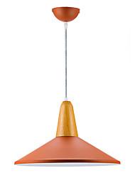40W Подвесные лампы ,  Современный Живопись Особенность for Мини Металл Столовая