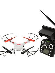 Drone WL Toys V686G 4 Canaux 6 Axes 5.8G Avec Caméra HD Quadri rotor RCFPV Retour Automatique Sécurité Intégrée Mode Sans Tête Vol