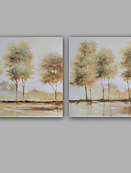 100% Hand-Painted Abstract Modern Landscape Hang-Painted Oil PaintingModern / Classic One Panel Canvas Oil Painting For Home Decoration