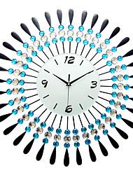 Moderne/Contemporain Niches Horloge murale,Autres Acrylique / Verre / Métal 60*60cm Intérieur Horloge