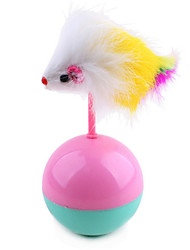 Cat Pet Toys Ball / Teaser Mouse / Tumbler Random Color Plush