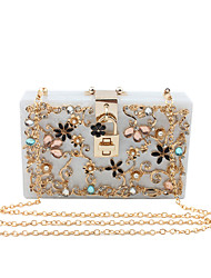 Women Special Material / Metal Formal / Event/Party / Wedding Evening Bag Clutch Acrylic Purse