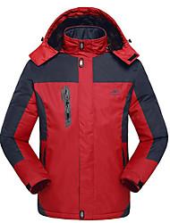 Wandern Windjacken / Softshell Jacken / Ski/Snowboard Jacken / Oberteile HerrnWasserdicht / Atmungsaktiv / warm halten / Rasche Trocknung