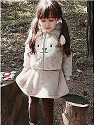 Girl Casual/Daily / Sports Solid Sets,Polyester Winter / Fall Long Sleeve Clothing Set