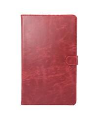caja de la carpeta de alta calidad patrón de cuero genuino con el sueño de 10.1 pulgadas t2 Huawei MediaPad pro 10.0