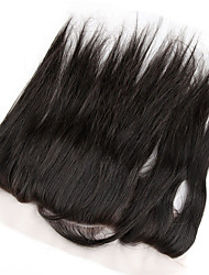 4x13 Fermeture Droit (Straight) Cheveux Rémy Fermeture Dentelle Suisse 45-120 gramme Cap Taille