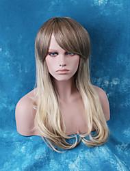bela sem tampa longa perucas de cabelo humano ombre reta naturais