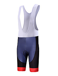 QKI Cycling Wear Tiger Cycling Bib Shorts Mens /Quick Dry / Anatomic Design  / 5D Coolmax Gel Pad