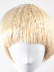 Europe and United States fashion Qi Liu party ballBOBO Light Gold lorshort hair high temperature wire wigs