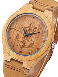Мужской Женские Для пары УнисексСпортивные часы Армейские часы Нарядные часы Модные часы Наручные часы Уникальный творческий часы Часы