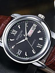 Fashion Casual Quartz Men Watches High Quality Soft Leather Man Clock Waterproof Wristwatches For Men Erkek Kol Saati relogio masculino