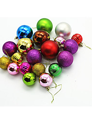 Holiday Jewelry Festival/Holiday Halloween Costumes Red / Purple / Golden / Silver / Green Solid Christmas Engineering Plastic